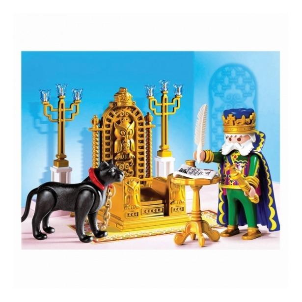 фото Сказочный дворец: Король в тронном зале Playmobil 4256pm