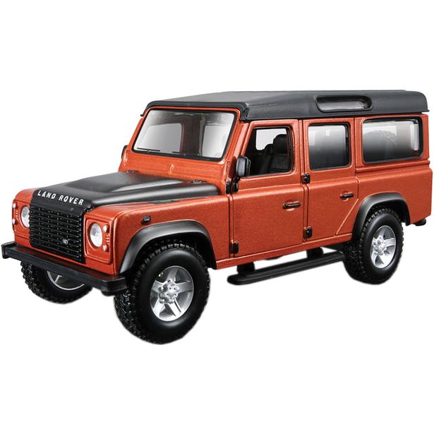 фото Модель автомобиля 1:32 Bburago Land Rover Defender. В ассортименте