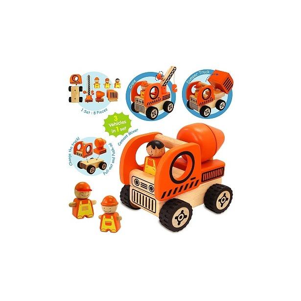 фото Игровой набор I'm toy «Дорожная спецтехника»
