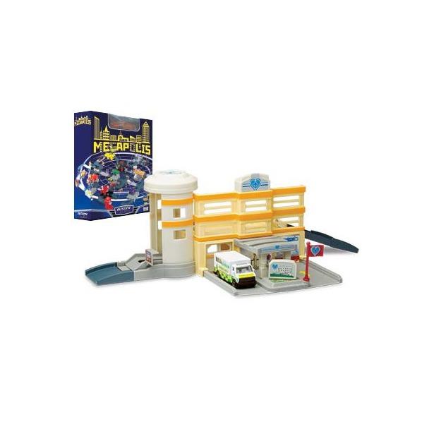 фото Набор игровой для мальчиков AUTOTIME Megapolis. Больница с машиной