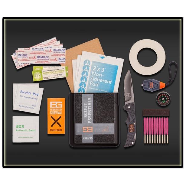 фото Набор туристический GERBER Scout Essentials Kit
