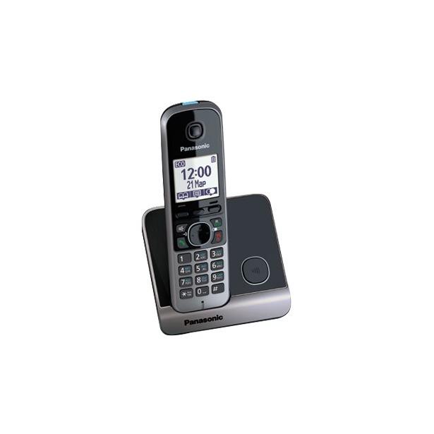 фото Радиотелефон Panasonic KX-TG6711. Цвет: черный