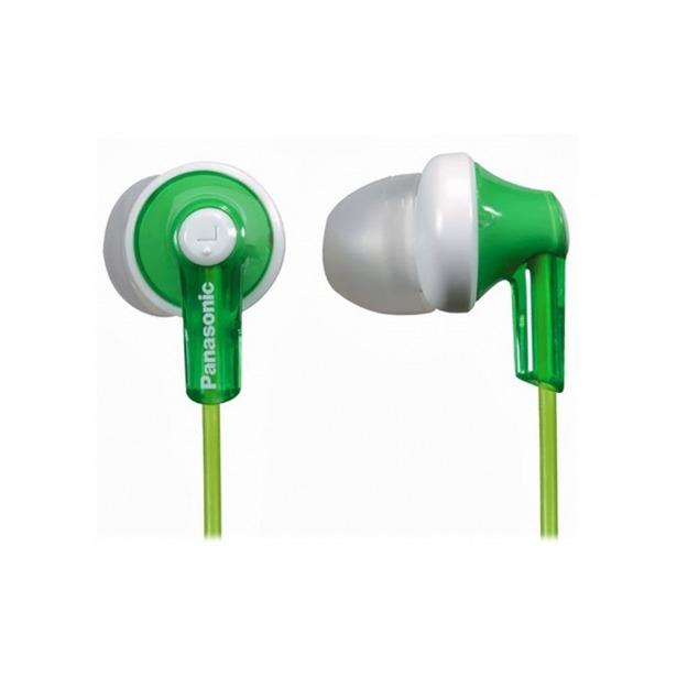 фото Наушники вставные Panasonic RP-HJE118. Цвет: белый, зеленый