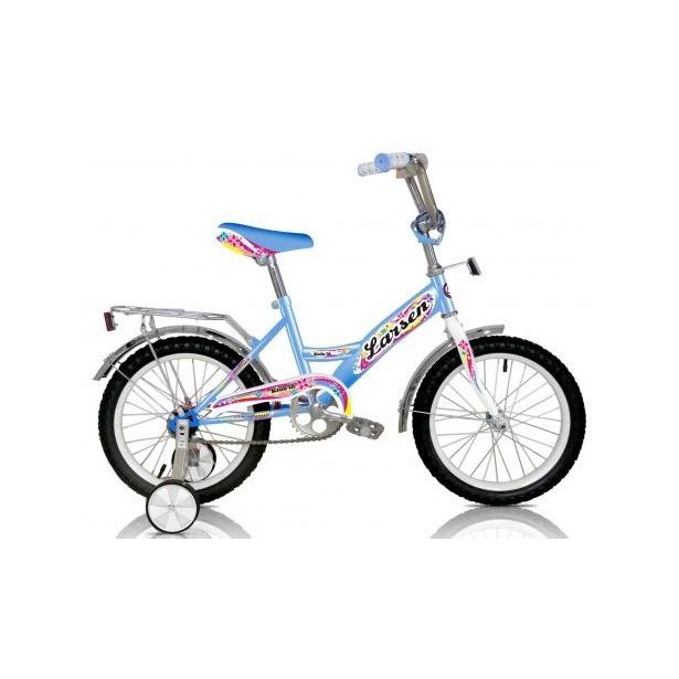 фото Велосипед Larsen Kids 16. Цвет: голубой