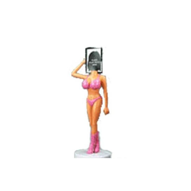 фото Фигурка с фоторамкой «Девушка в розовом»
