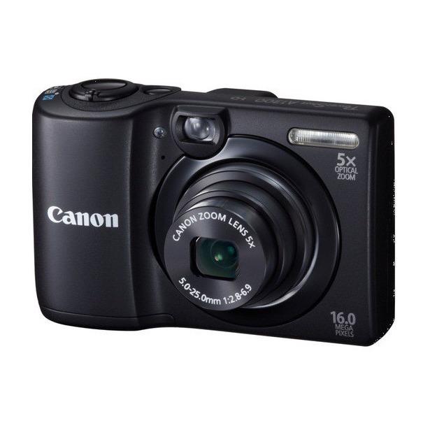 фото Фотокамера цифровая Canon PowerShot A1300. Цвет: черный