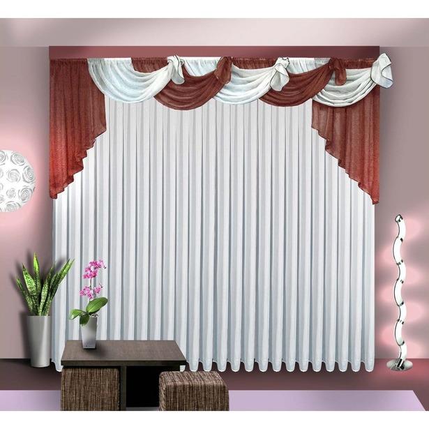 фото Комплект штор Zlata Korunka Б067. Цвет: коричневый