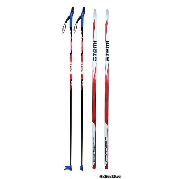 фото Комплект лыжный ATEMI Concept 2013 75 мм