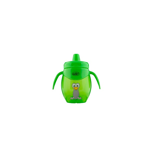 фото Чашка-поильник Adiri Penguin Trainer. Цвет: зеленый. Объем: 250 мл