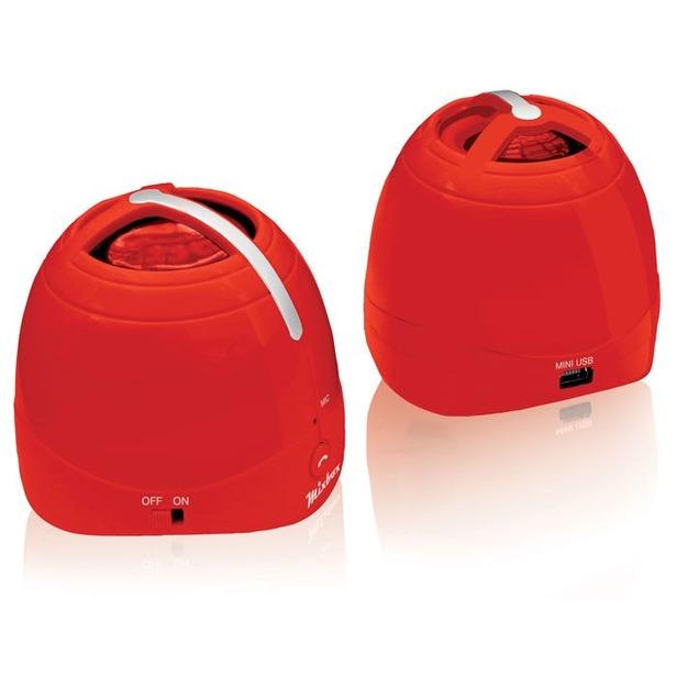 фото Система акустическая портативная BBK BTA101. Цвет: красный