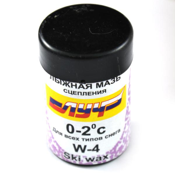 фото Мазь лыжная синтетическая Луч W-4