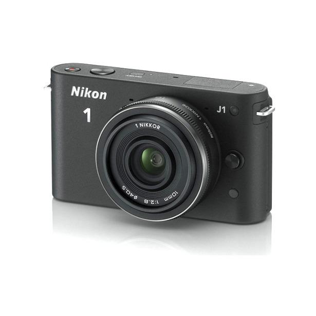 фото Фотокамера цифровая Nikon 1 J1 Kit 10mm f/2.8