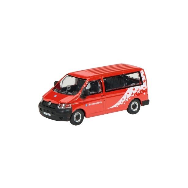 фото Модель автомобиля 1:87 Schuco VW T5 Bus AIR ZERMATT