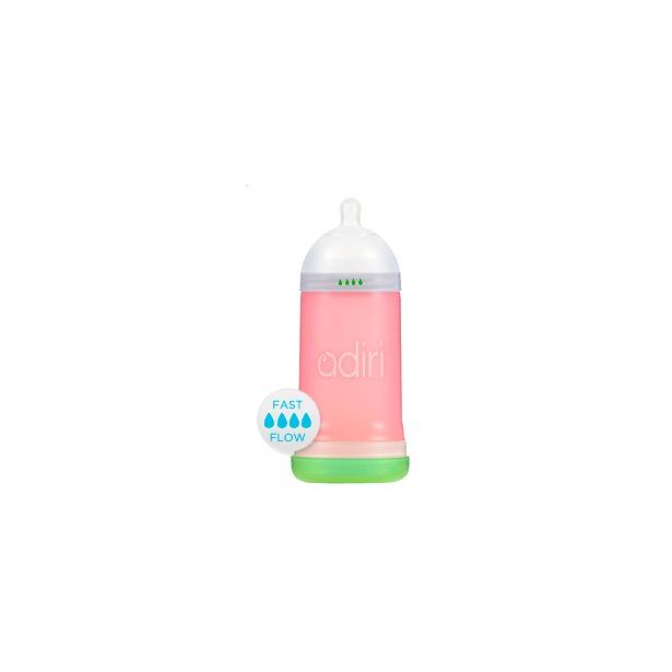 фото Бутылочка для кормления Adiri NxGen Fast Flow. Цвет: розовый