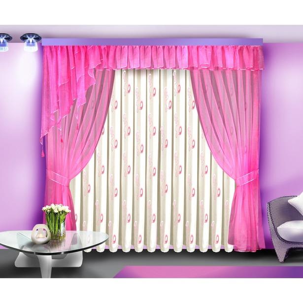 фото Комплект штор Zlata Korunka Б088. Цвет: розовый