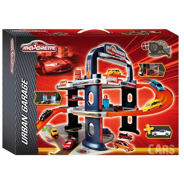 фото Набор игровой: гараж и автомобиль Majorette