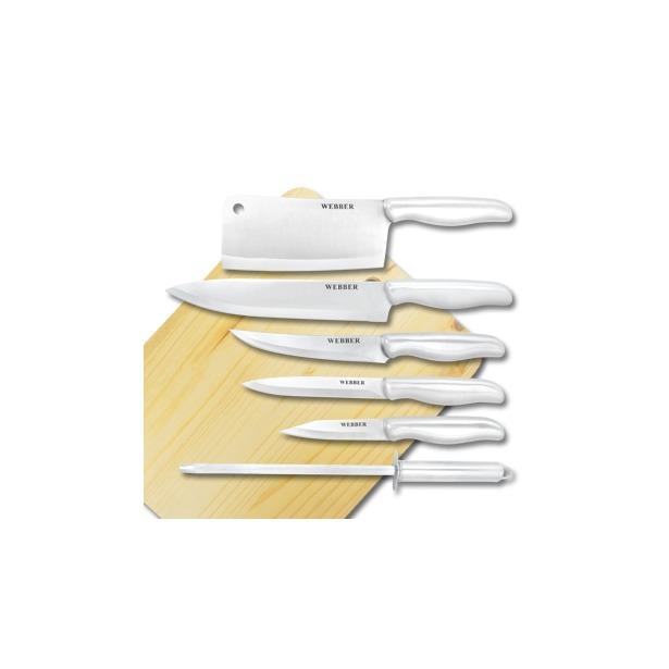 фото Набор ножей Webber ВЕ-2167С