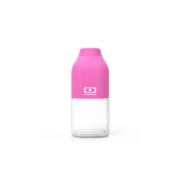 фото Бутылка Monbento MB Positive. Цвет: белый, розовый. Габариты: 190x60x60. Объем: 0,5 л