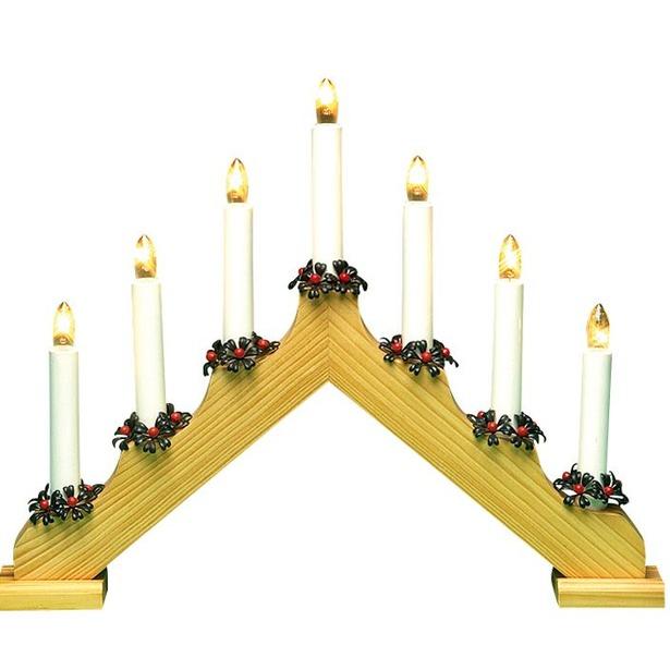 фото Горка рождественская Svetlitsa Рождество. Цвет: желтый