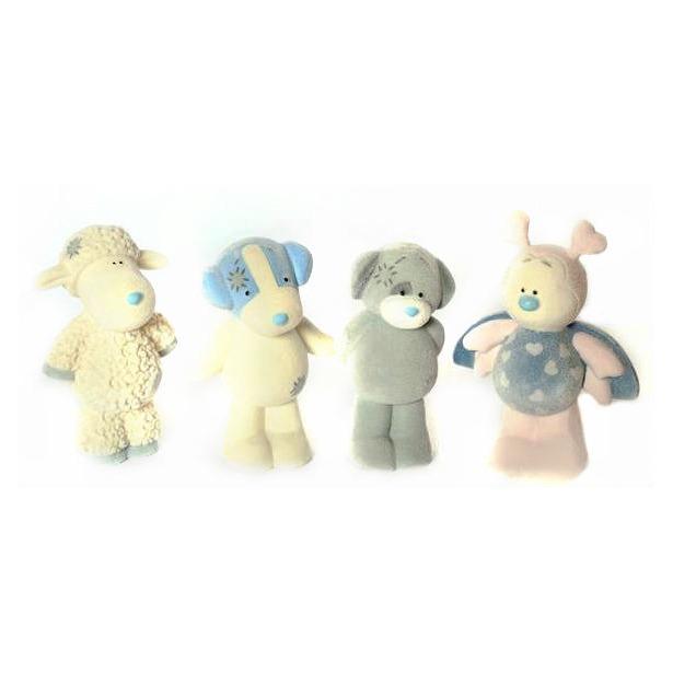 фото Набор фигурок игрушечных Me to you Бабочка, Овечка, Щенок, Джек Рассел