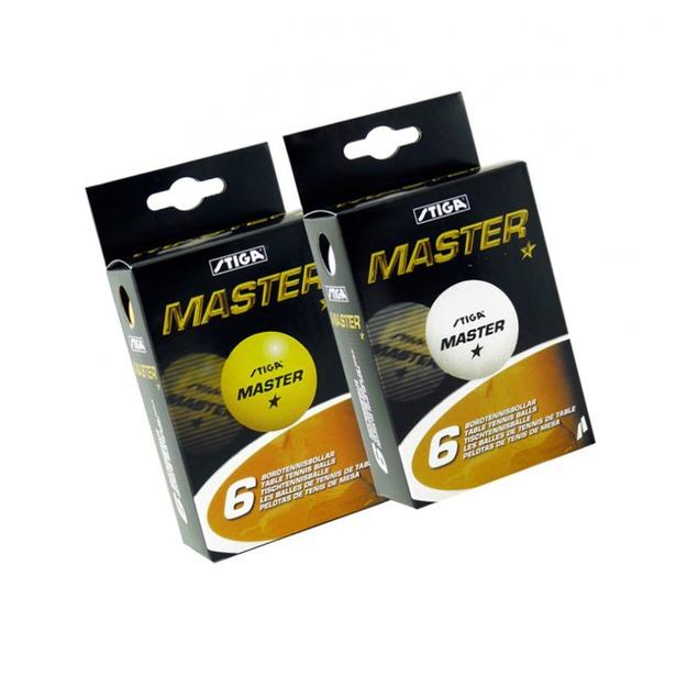 фото Мячи для настольного тенниса Stiga Master. Цвет: оранжевый