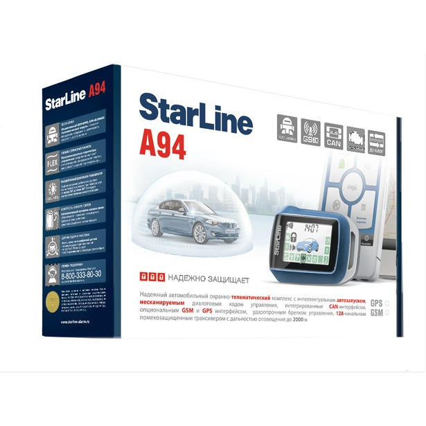 фото Автосигнализация Starline A94 Dialog