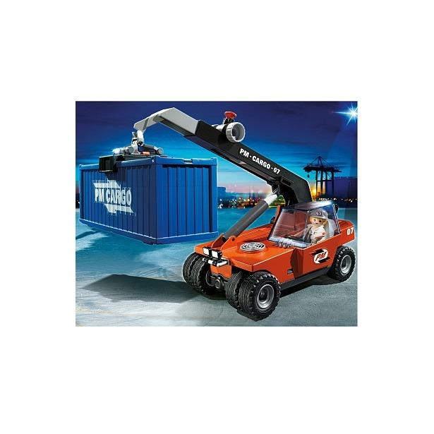 фото Грузовой подъемник с контейнером Playmobil 5256pm