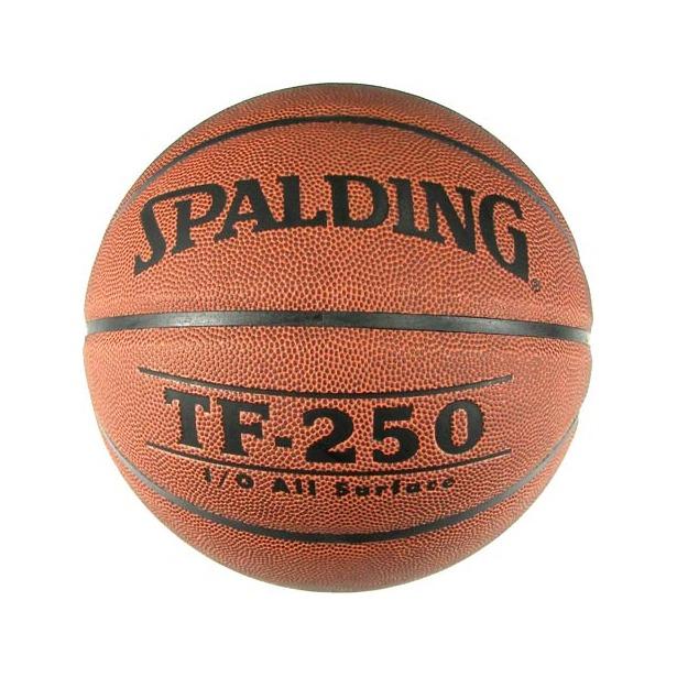 фото Мяч баскетбольный Spalding TF-250 Synthetic Leather. Размер мяча: 7