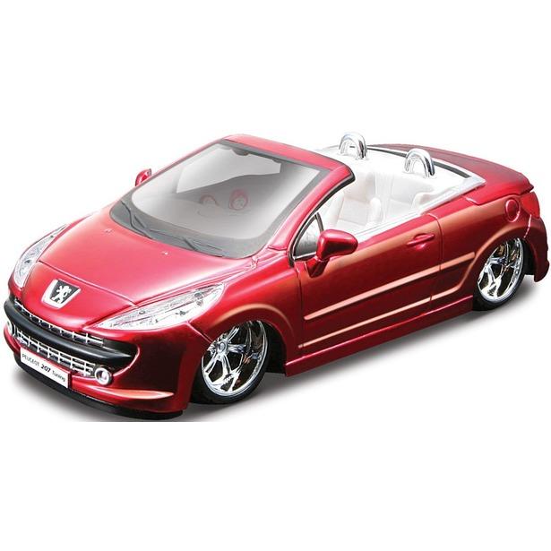 фото Модель автомобиля 1:32 Bburago Peugeot 207 CC Tunning. В ассортименте