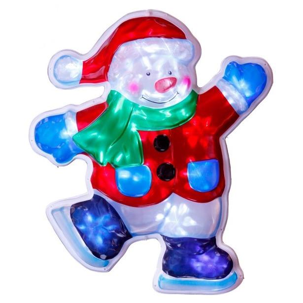фото Декорация рождественская Star Trading Снеговик
