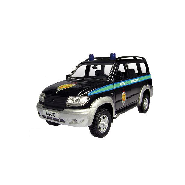 фото Модель автомобиля AUTOTIME UAZ Patriot «ФСБ России»