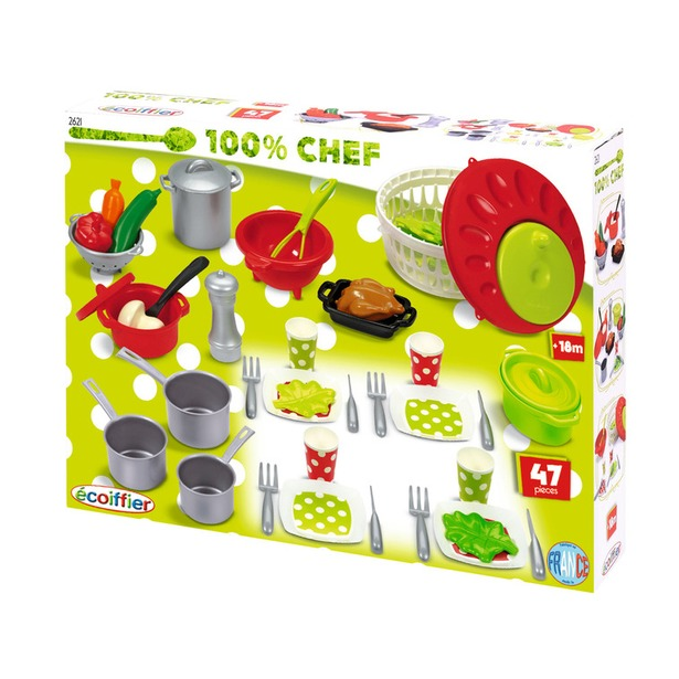 фото Набор посудки Ecoiffier 100% Chef