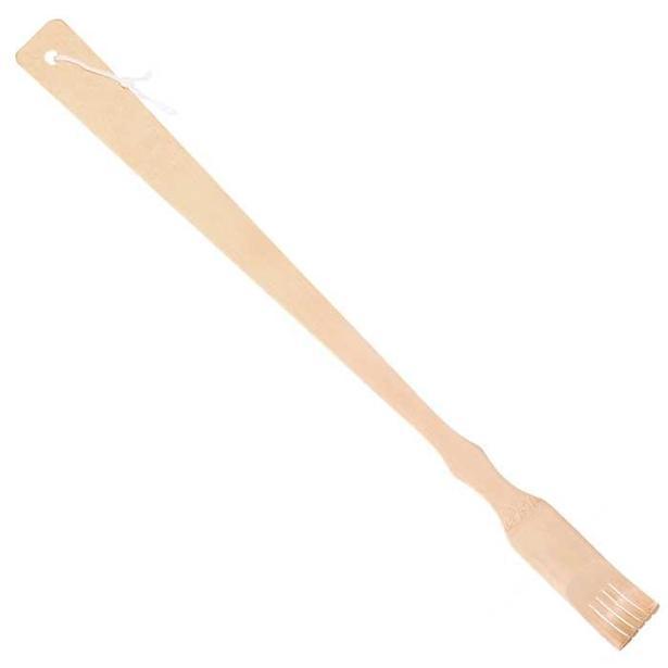 фото Ручка для спины бамбуковая Банные штучки