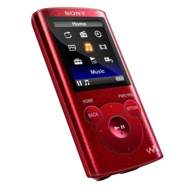 фото MP3-плеер SONY NWZ-E383. Цвет: красный