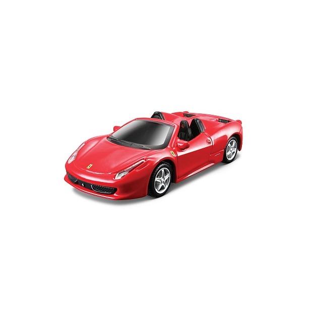 фото Сборная модель автомобиля 1:43 Bburago Ferrari 458 Spider