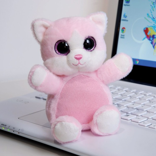 фото Протиратель экрана Aroma Home Sparkly Eyes «Кошка»