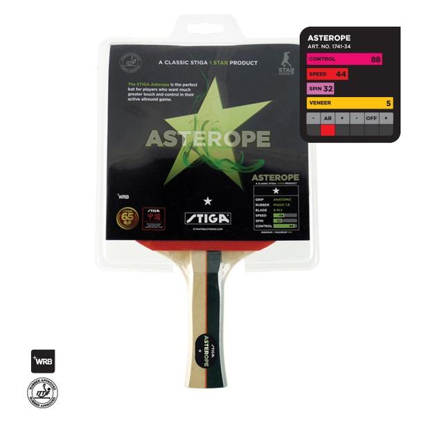 фото Ракетка для настольного тенниса Stiga Asterope WRB
