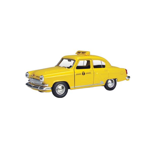 фото Модель автомобиля AUTOTIME ГАЗ-21 Волга «Желтое такси»