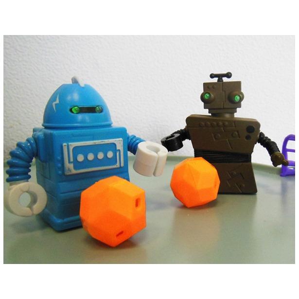 фото Набор игровой для мальчиков «Роботы-футболисты»