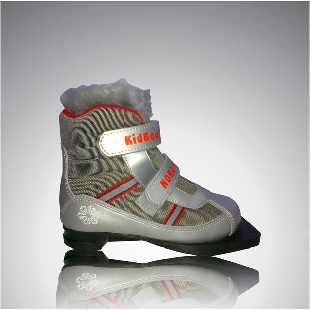 фото Ботинки лыжные Larsen Kids Velcro. Размер: 31