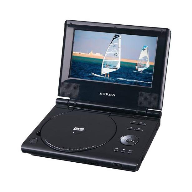 фото DVD-плеер портативный Supra SDTV-715U