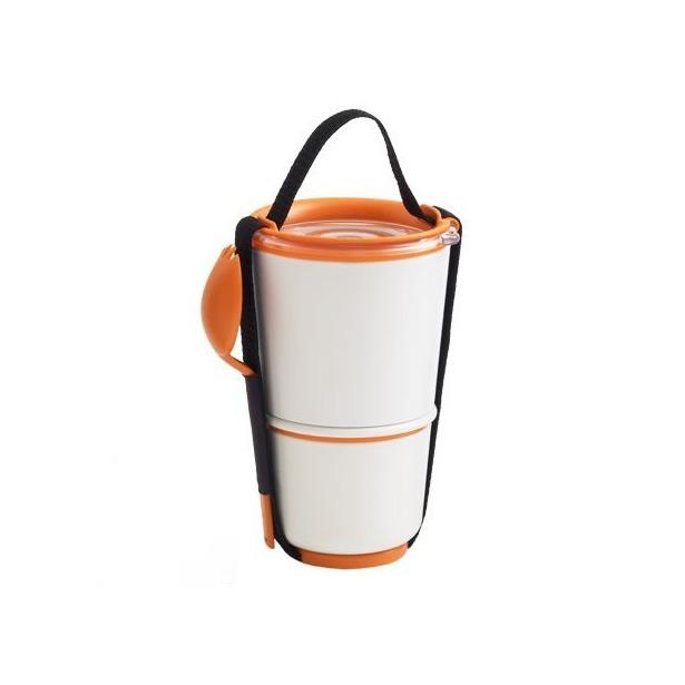 фото Ланч-бокс Black+Blum Lunch Pot. Цвет: оранжевый
