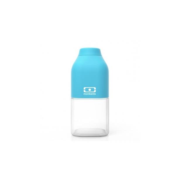 фото Бутылка Monbento MB Positive. Цвет: белый, голубой. Габариты: 190x60x60. Объем: 0,5 л