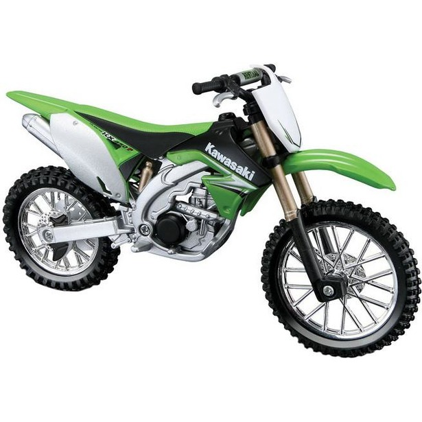 фото Модель мотоцикла 1:18 Bburago Kawasaki KX 450F