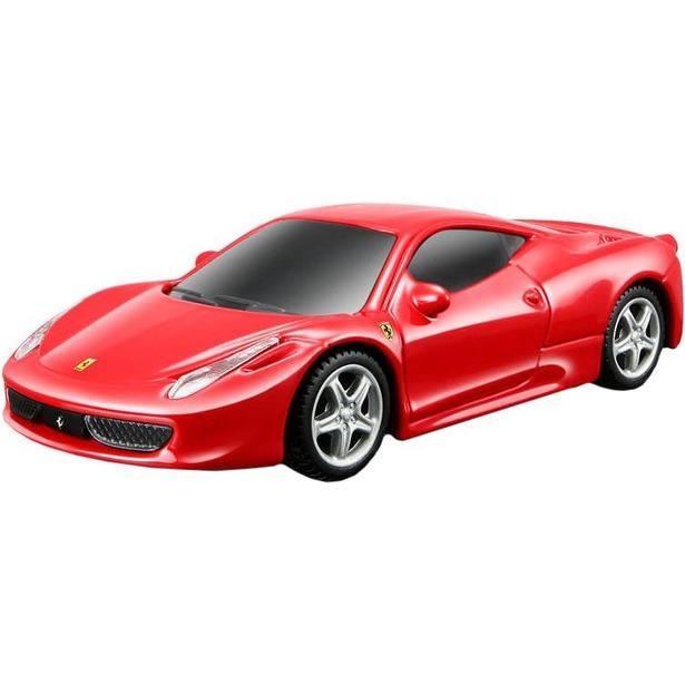 фото Модель автомобиля 1:43 Bburago Ferrari 458 Italia со светом и звуком. В ассортименте
