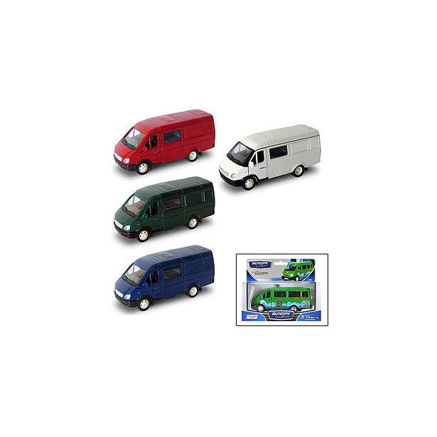 фото Модель автомобиля AUTOTIME ГАЗель «Комби». В ассортименте