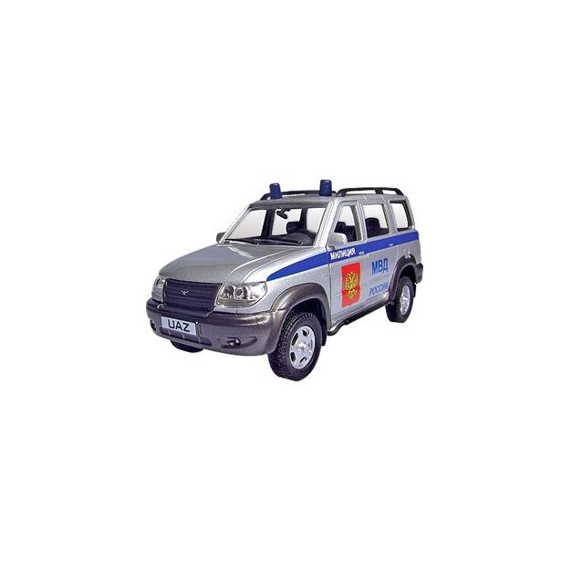 фото Модель автомобиля AUTOTIME UAZ Patriot. Милиция