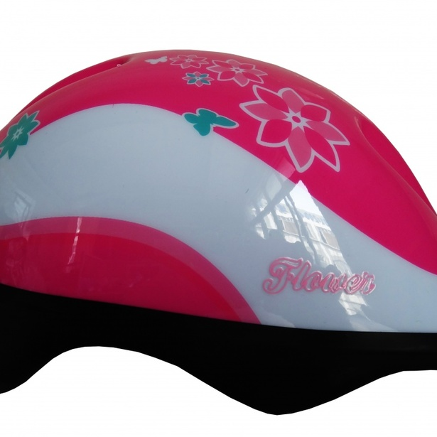 фото Шлем защитный Larsen H1 Flower. Размер: M (50-54 см)