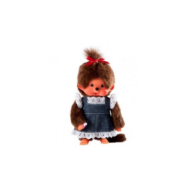 фото Мягкая игрушка Sekiguchi Девочка в джинсовом платье