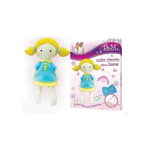 фото Набор для шитья куклы Делай с Мамой Злата